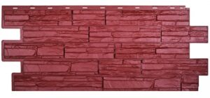 Панели Альпийская сказка. Красный 3009