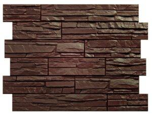 Панели Wandstein «Скол». Темно-коричневый