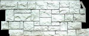 Панели «Камень дикий». Жемчужный