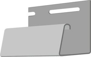 Фасадный J-профиль 30 мм. Агатовый
