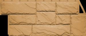 Панели «Камень крупный». Песочный