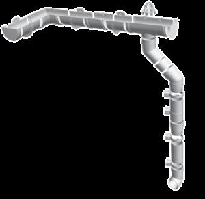 Водосточная система «Standard». Пломбир