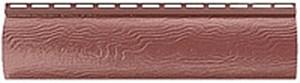 Альта - профиль blockhouse однопереломный Красно - коричневый