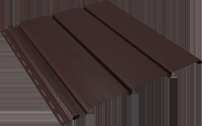 Софит без перфорации коричневый