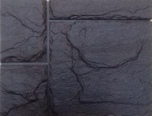 Фасайдинг камень крупный коричневый