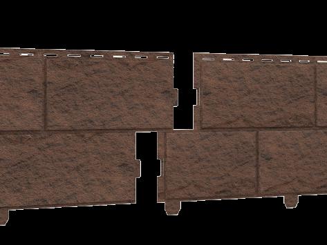 Стоун-хаус камень (двойной замок) Жженый