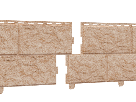 Стоун-хаус камень (двойной замок) Золотистый
