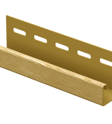 J-Планка Ю -Пласт Timberblock золотая