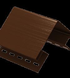 Наружный угол Ю-пласт коричневый