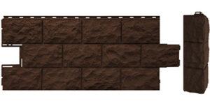 Панели FineBer «Доломит» коричневый