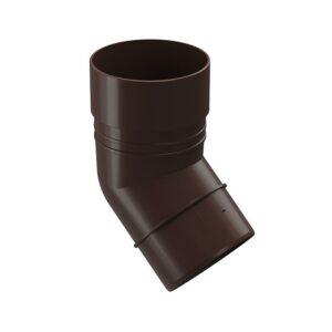 Колено 45° Döcke «Standard» коричневый