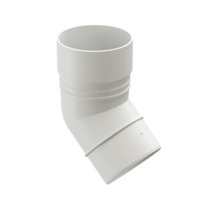 Колено 45° Döcke «Standard» белый