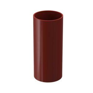 Труба водосточная 1м Döcke «Standard» Красный