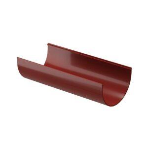 Желоб водосточный 3 м Döcke «Standard» красный