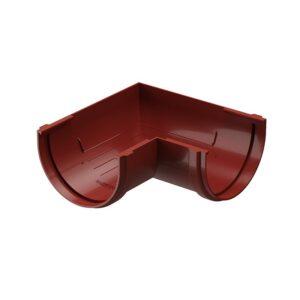 Угловой элемент желоба 90 Döcke «Standard» красный