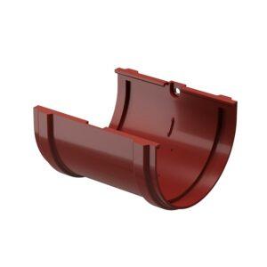 Соединитель желобов Döcke «Standard» красный