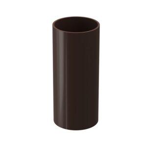 Труба водосточная 1м Döcke «Standard» коричневый