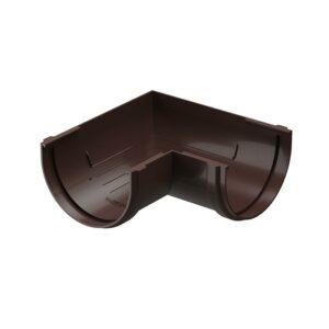 Угловой элемент желоба 90 Döcke «Standard» коричневый