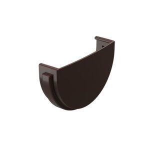 Заглушка желоба Döcke «Standard» коричневый