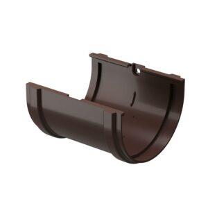 Соединитель желобов Döcke «Standard» коричневый