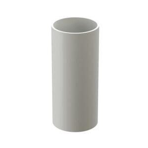 Труба водосточная Döcke «Premium» 1м Пломбир