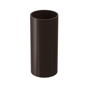 Труба водосточная Döcke «Lux» Шоколад .1 м